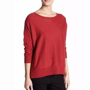 Eileen Fisher HiLo Organic Cotton Boatneck Sweater